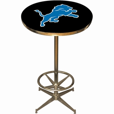 Detroit Lions Team Pub Table