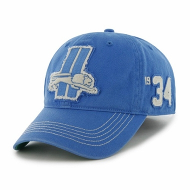 Detroit Lions Throwback Badger Franchise Flex Fit Hat