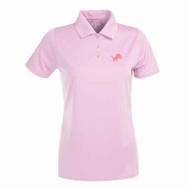 Detroit Lions Womens Exceed Polo (Color: Pink)