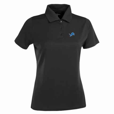 Detroit Lions Womens Exceed Polo (Color: Black)