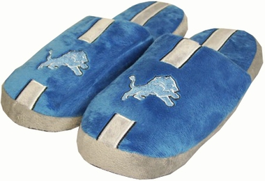 Detroit Lions YOUTH Team Stripe Slide Slippers