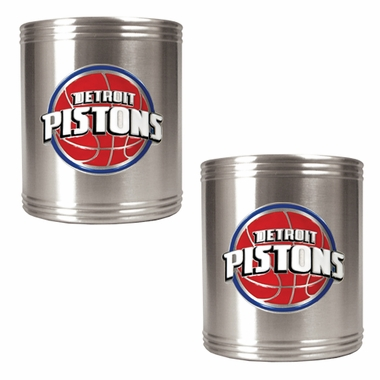 Detroit Pistons 2 Can Holder Set