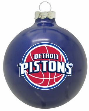 Detroit Pistons Traditional Ornament