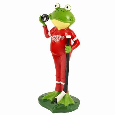 Detroit Red Wings 12 Inch Frog Player Figurine