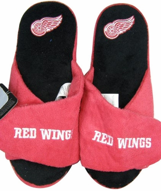 Detroit Red Wings 2011 Open Toe Hard Sole Slippers