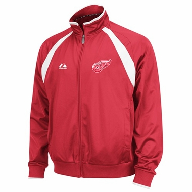 Detroit Red Wings 2011 Therma Base Track Jacket