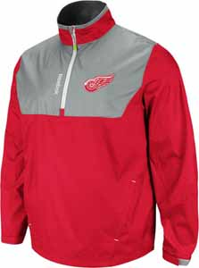 Detroit Red Wings 2012 1/4 Zip Performance Hot Jacket - X-Large
