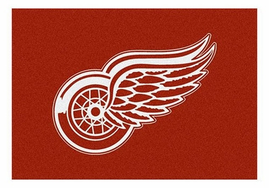 "Detroit Red Wings 5'4"" x 7'8"" Premium Spirit Rug"
