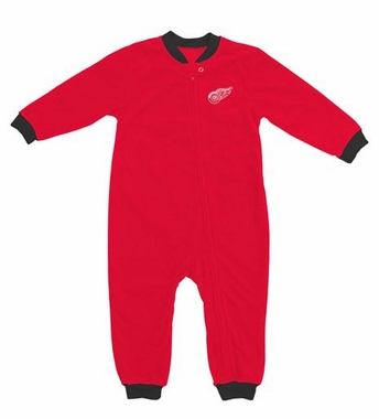 Detroit Red Wings Fleece Toddler Sleeper Pajamas