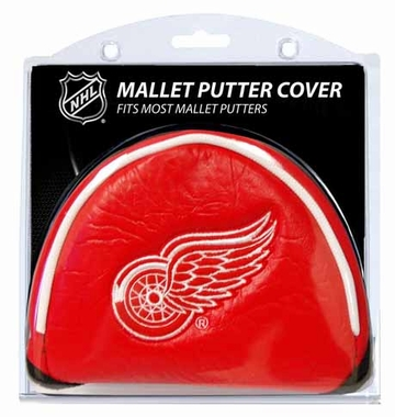 Detroit Red Wings Mallet Putter Cover