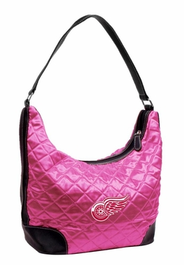 Detroit Red Wings Quilted Hobo Purse