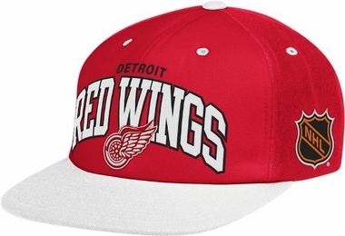 Detroit Red Wings Retro Arch Snapback Hat