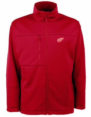 Detroit Red Wings Mens Traverse Jacket (Color: Red)