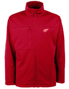Detroit Red Wings Mens Traverse Jacket (Color: Red) - Large