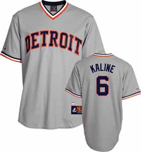 Detroit Tigers Al Kaline Replica Throwback Jersey - XX-Large