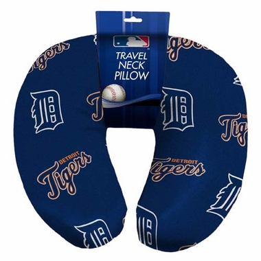 Detroit Tigers Beaded Neck Pillow