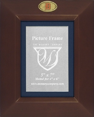 Detroit Tigers BROWN Portrait Picture Frame