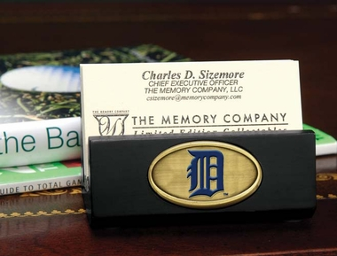 Detroit Tigers Business Card Holder (Black)