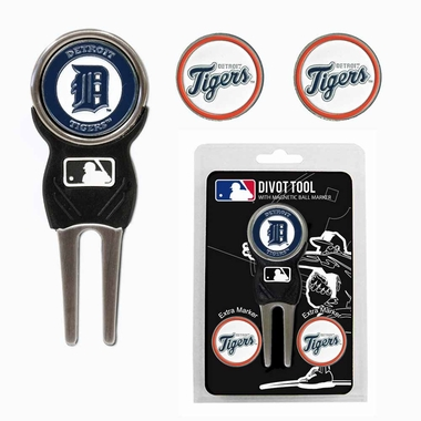Detroit Tigers Repair Tool and Ball Marker Gift Set