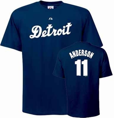 Detroit Tigers Sparky Anderson Name and Number T-Shirt