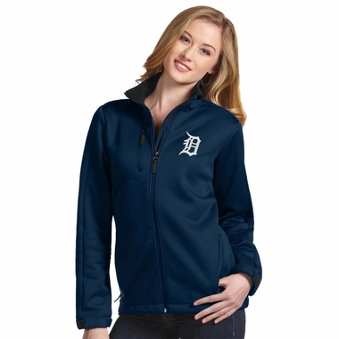 Detroit Tigers Womens Traverse Jacket (Color: Navy) - Small