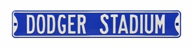 Dodger Stadium Street Sign