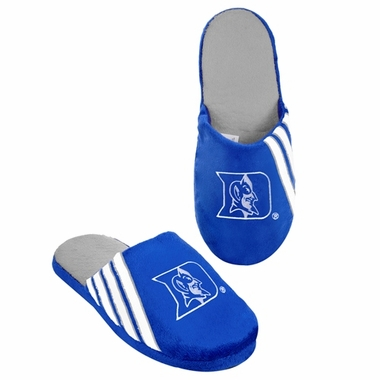 Duke Blue Devils 2012 Team Stripe Logo Slippers