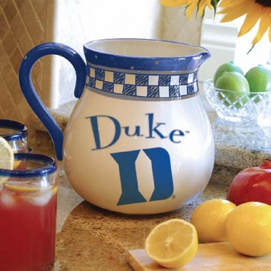Duke Gameday Ceramic Pitcher