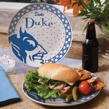 Duke Gameday Ceramic Plate