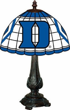 Duke Stained Glass Table Lamp