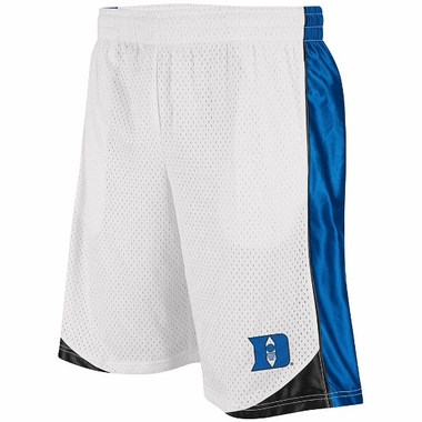 Duke Vector Performance Shorts (White)