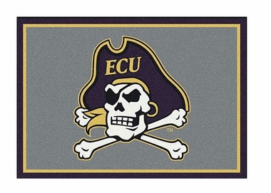 "East Carolina 3'10"" x 5'4"" Premium Spirit Rug"
