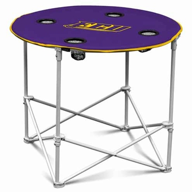 East Carolina Round Tailgate Table