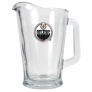 Edmonton Oilers 60 oz Glass Pitcher