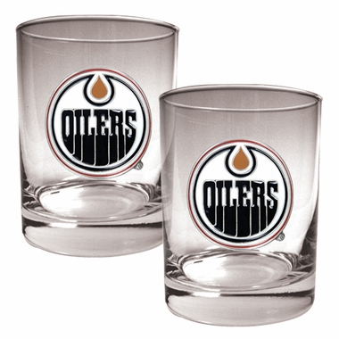 Edmonton Oilers Double Rocks Set