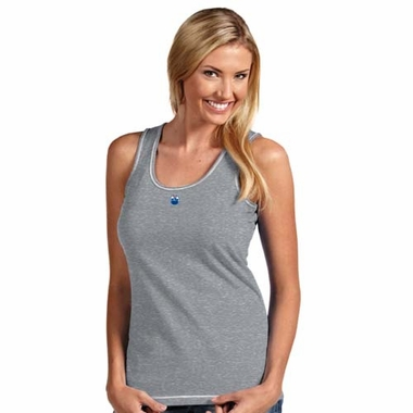 Edmonton Oilers Womens Sport Fashion Tank Top (Color: Silver)