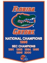 "Florida 24""x36"" Dynasty Wool Banner"