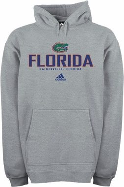 Florida Adidas Classic Hooded Sweatshirt (Grey)