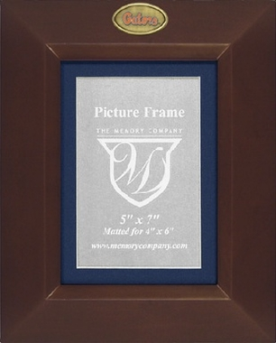 Florida BROWN Portrait Picture Frame