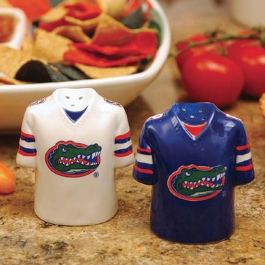 Florida Ceramic Jersey Salt and Pepper Shakers