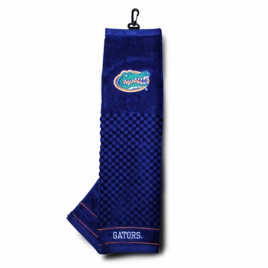 Florida Embroidered Golf Towel