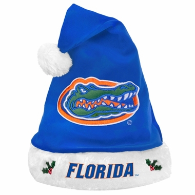 Florida Gators 2012 Team Logo Plush Santa Hat