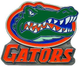 Florida Gators Hitch Cover Class 3