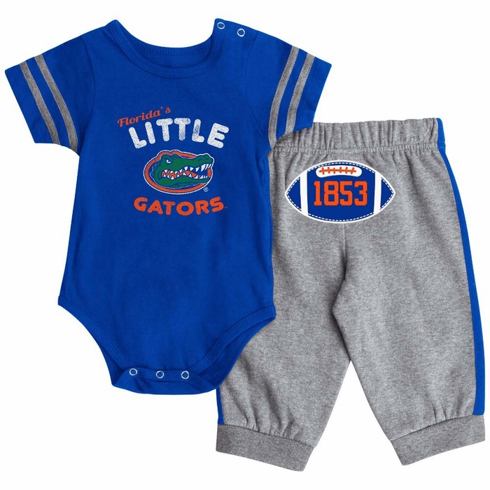 Florida Gators Infant Hut esie & Pant Outfit Set 6 12