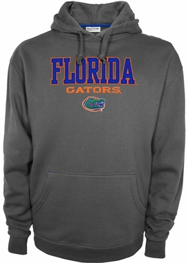 "Florida Gators Majestic ""Huddle Up"" Hooded Sweatshirt - Graphite"