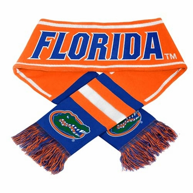 Florida Gators NCAA 2013 Team Wordmark Knit Scarf