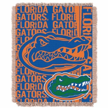 Florida Jacquard Woven Throw Blanket