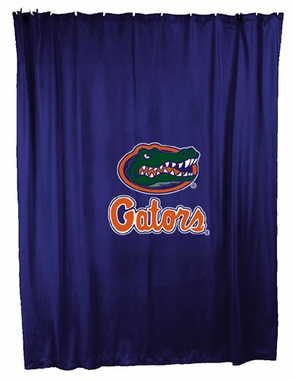 Florida Jersey Material Shower Curtain