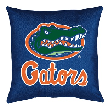 Florida Jersey Material Toss Pillow