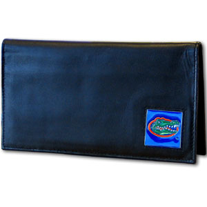 Florida Leather Checkbook Cover (F)